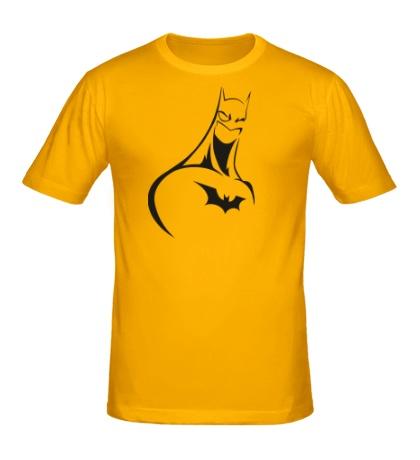 Мужская футболка Мультяшный Бэтман