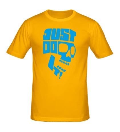 Мужская футболка Just Do It: Skull