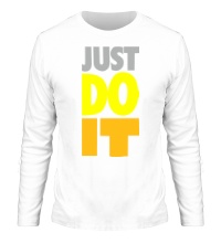 Мужской лонгслив Just Do It: Color