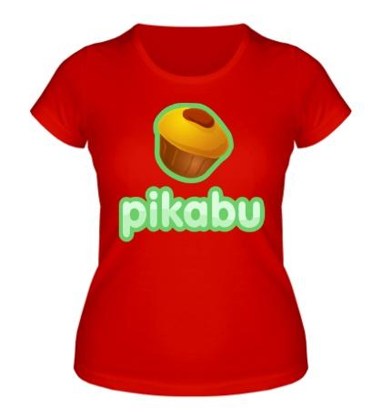 Женская футболка Pikabu