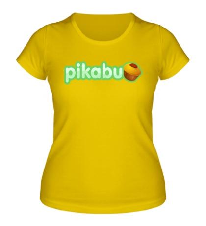 Женская футболка Pikabu Logo