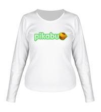 Женский лонгслив Pikabu Logo