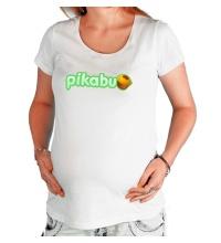 Футболка для беременной Pikabu Logo