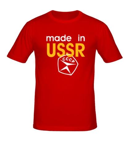 Мужская футболка USSR Stamp