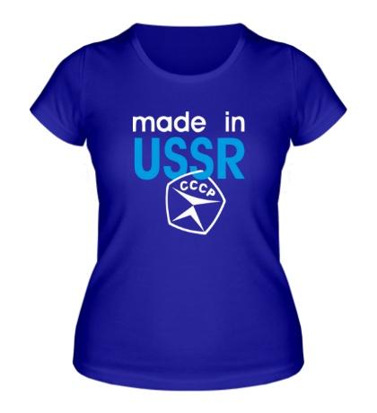 Женская футболка USSR Stamp