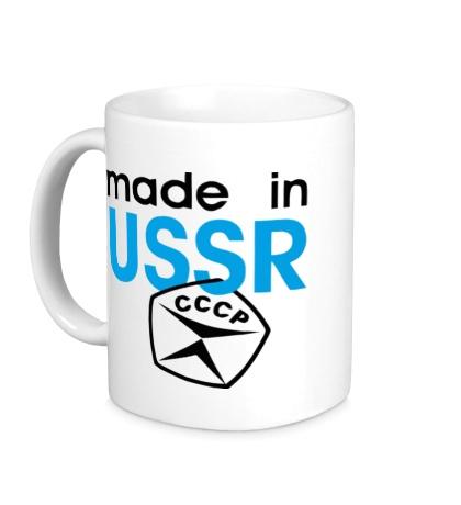 Керамическая кружка USSR Stamp