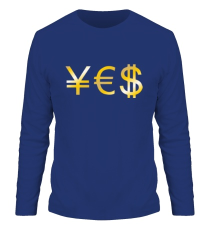 Мужской лонгслив Yes Money