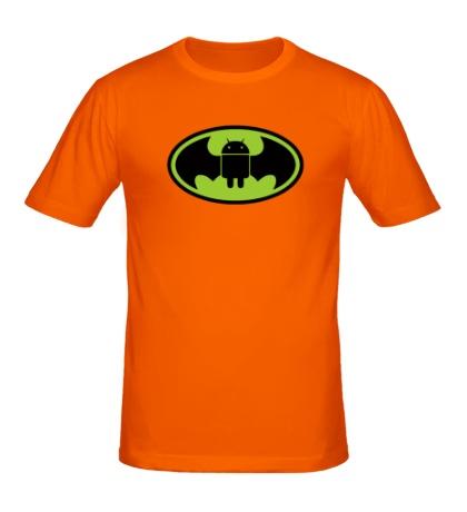Мужская футболка Android-Batman