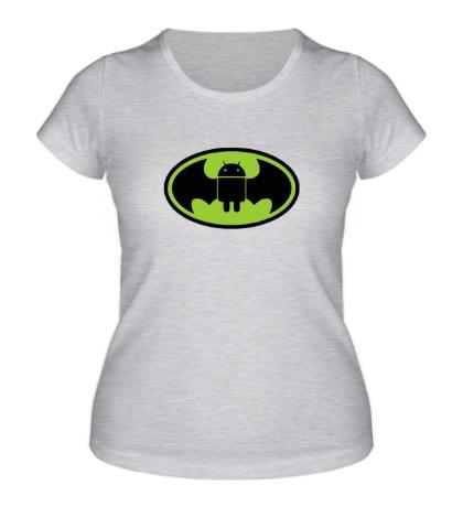 Женская футболка Android-Batman