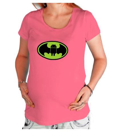 Футболка для беременной Android-Batman