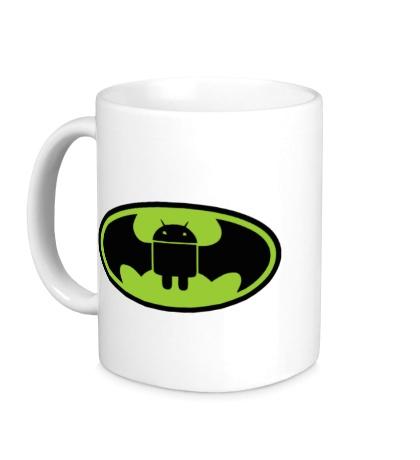 Керамическая кружка Android-Batman