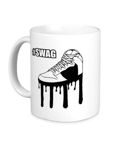Керамическая кружка Swag Shoes