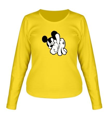 Женский лонгслив SWAG Mickey Mouse