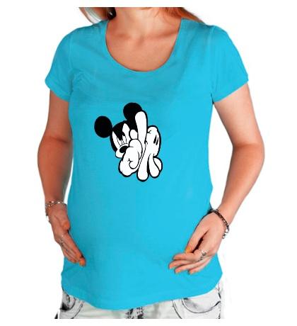 Футболка для беременной SWAG Mickey Mouse