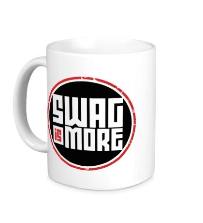 Керамическая кружка Swag Is More