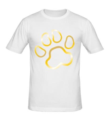 Мужская футболка Кошачья лапка