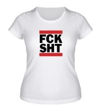 Женская футболка Fck sht