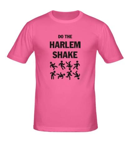 Мужская футболка Do the harlem shake