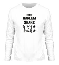 Мужской лонгслив Do the harlem shake