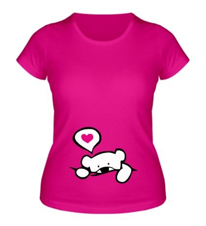 Женская футболка Медвежонок