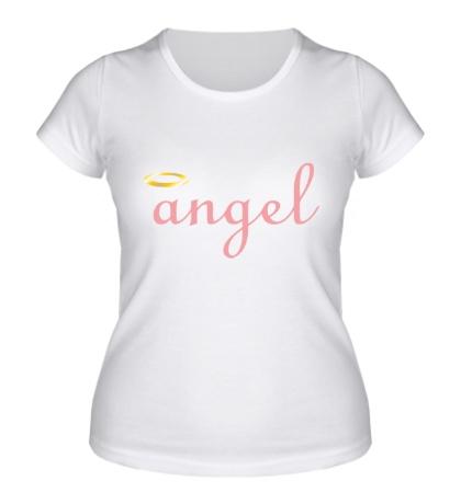 Женская футболка Я ангел