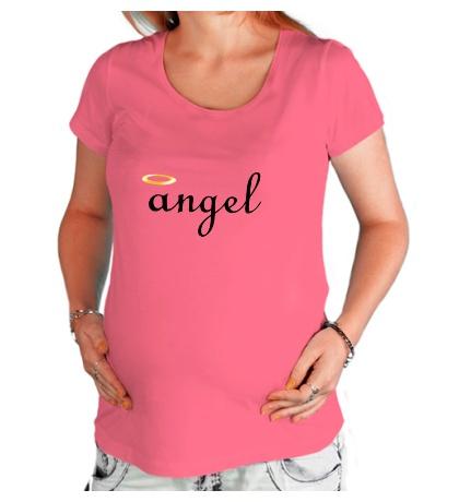 Футболка для беременной Я ангел