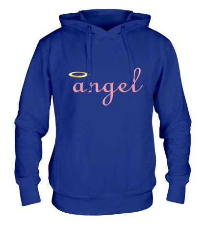Толстовка с капюшоном Я ангел
