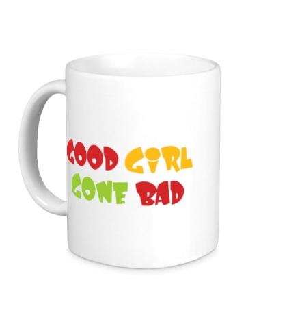 Керамическая кружка Good girl gone bad