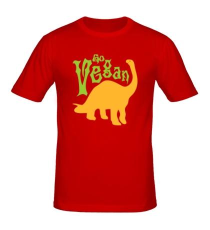 Мужская футболка Go vegan