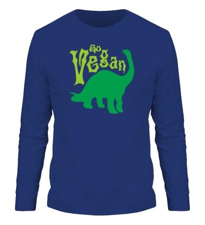 Мужской лонгслив Go vegan