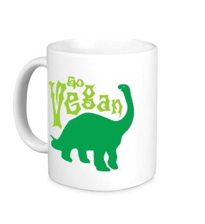 Керамическая кружка Go vegan