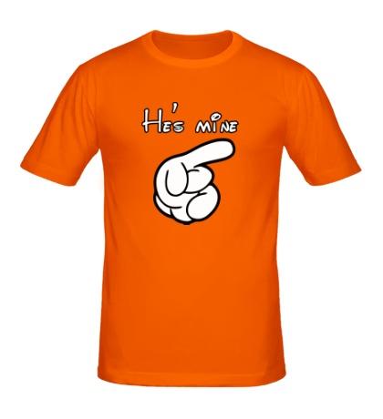 Мужская футболка Hes mine