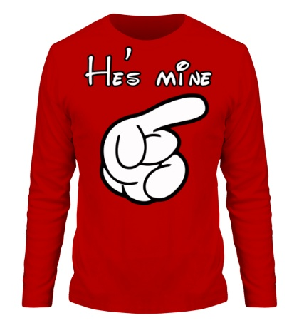 Мужской лонгслив Hes mine
