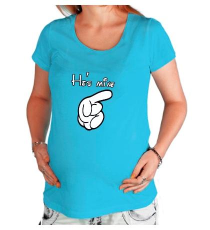 Футболка для беременной Hes mine