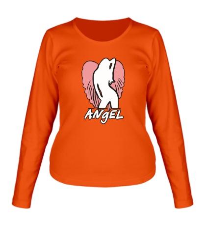 Женский лонгслив Angel