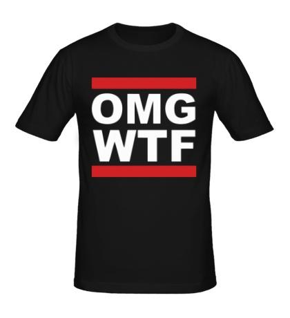 Мужская футболка Run OMG WTF