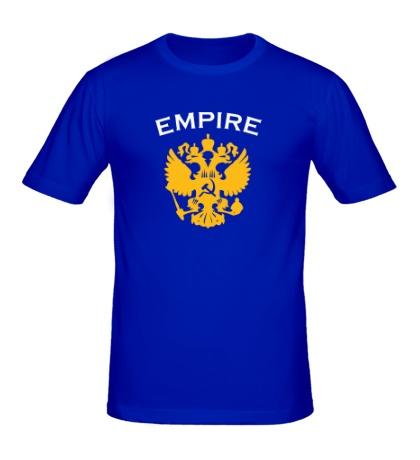 Мужская футболка Герб Russian Empire