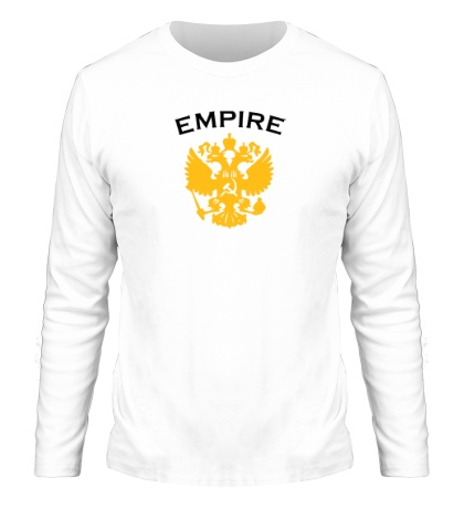 Мужской лонгслив Герб Russian Empire