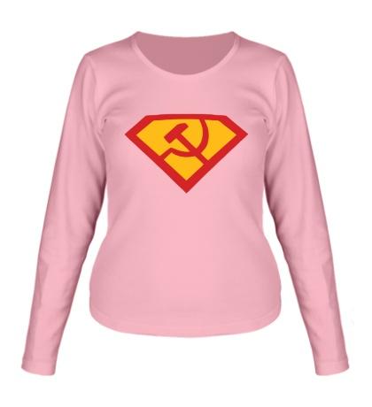 Женский лонгслив Супер СССР