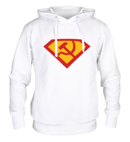 Толстовка с капюшоном Супер СССР