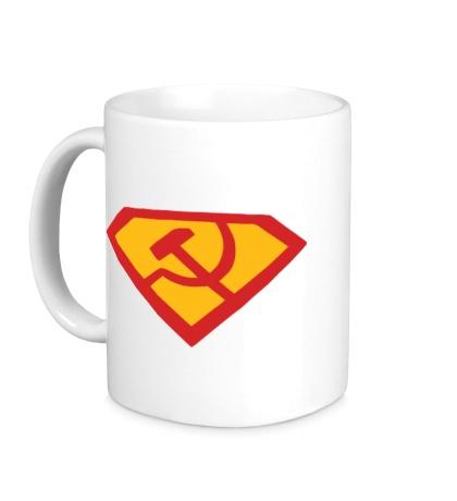 Керамическая кружка Супер СССР