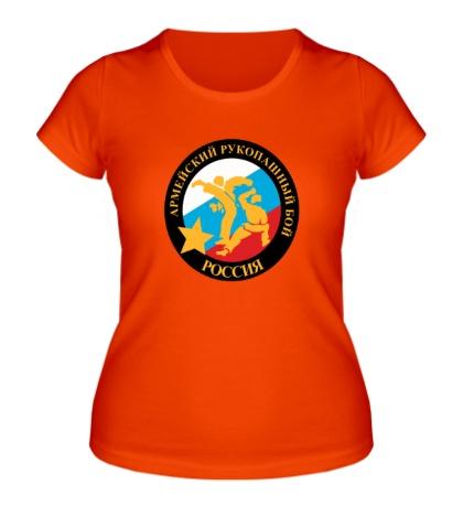 Женская футболка Русский рукопашный бой