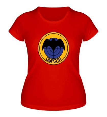 Женская футболка Спецназ ОБРСПН