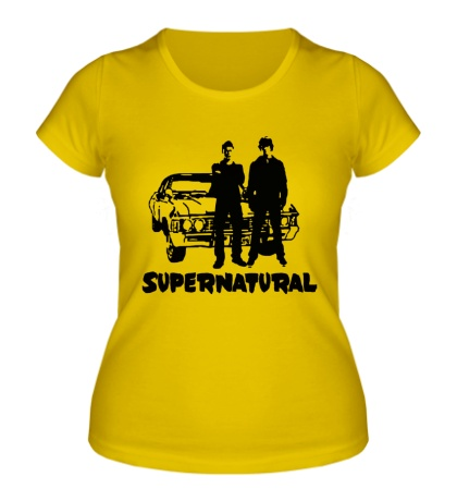 Женская футболка Impala Brothers