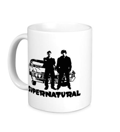 Керамическая кружка Impala Brothers