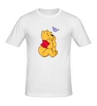 Мужская футболка Винни Пух мечтает