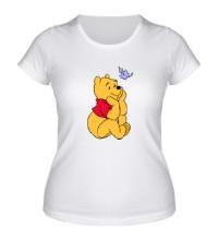 Женская футболка Винни Пух мечтает
