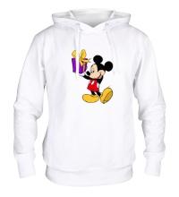 Толстовка с капюшоном Микки Маус с подарком