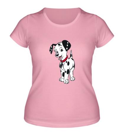 Женская футболка Далматинец