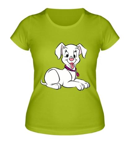 Женская футболка Милый Далматинец